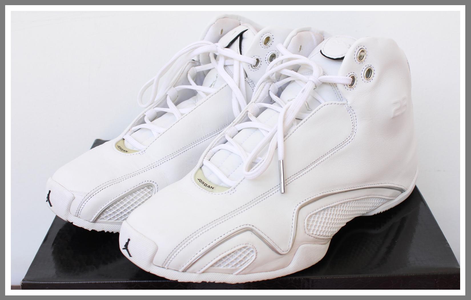 jordan 21 all white